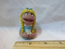 Applause Pvc Sesame Street Finger Puppet Figure Vintage Prairie Dawn Daisies