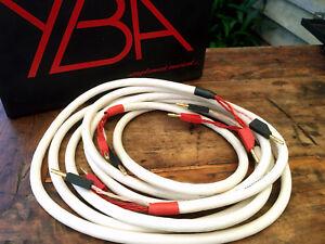 YBA Diamond Speaker Cables 2.46m