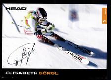 Elisabeth Görgl Autogrammkarte Original Signiert Skiapline + A 107356