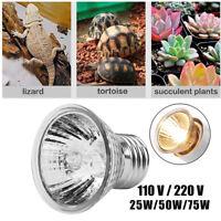 Bulb Sun Plant Pet Heating Lamp Reptile Heat Light Brooder E27 UVA+UVB