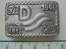 "JOHN WAYNE ""RED RIVER"" Belt Buckle-new"