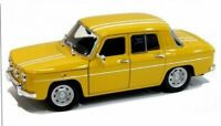 RENAULT 8 Gordini - 1964 - yellow - WELLY 1:24