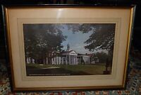 Vintage Framed Print Washington College Washington and Lee University