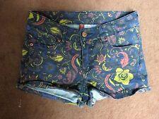 Cotton Blend Multi-Color Multi-Design Mini Shorts by Divided H&M 4