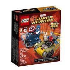 Captain America Marvel Universe LEGO Complete Sets & Packs