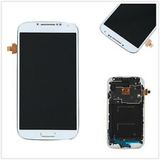 White Full LCD Touch Screen Glass Panel Lens Frame for Samsung Galaxy S4 i9505