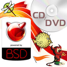 Bsd Operating Systems FreeBsd OpenBsd NetBsd Install & Live Cd / Dvd
