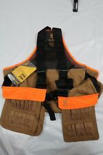 Browning Pheasants Forever Upland Strap Vest Blood Proof Lining Shell Pocket NWT