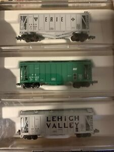 Atlas N Scale #5741 Special Edition CR Fallen Flags Airslide Freight Cars