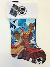 "Marvel Black Panther Christmas Stocking 17"" NWT"