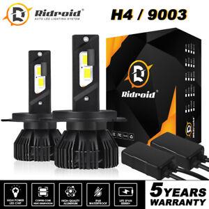 9003 H4 3570 CSP LED Headlight Hi/Lo Beam Canbus Error  Free Conversion Kit 2X
