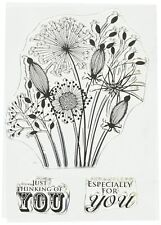 Woodware Clear Magic Going to Seed Stamp JGS300