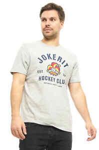 "Jokerit Helsinki ""Hockey Club"" KHL T-Shirt, Gray"