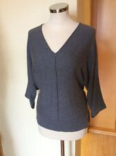Betty Barclay Sweater Size 10 BNWT Grey Batwing Sleeves RRP £70 NOW £32