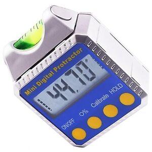 Winkelmesser Winkelmesser Finder Neigungsmesser mit Wasserwaage und Magneten