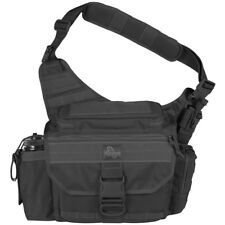 MAXPEDITION MONGO VERSIPACK TACTICAL MOLLE SHOULDER PACK PADDED CARRY BAG BLACK