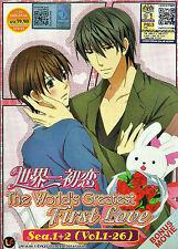 Sekaiichi Hatsukoi Complete Season 1 & 2 DVD 26 Episodes + The Movie Eng Sub