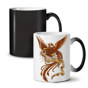 Mystic Bird NEW Colour Changing Tea Coffee Mug 11 oz | Wellcoda