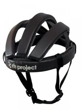 [rin project] Cowhide Leather Bicycle Casque/Helmet Black L Size 61cm From Japan
