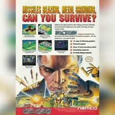 Super Nintendo SNES Namco METAL MARINES video game magazine print ad page