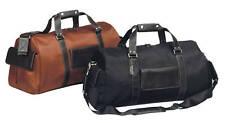 Vintage Laywer Executive Boss Travel Bellino Leather Duffel Bag 6747