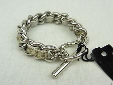 MIMCO Jewellery Punklove Chain Wrist/ Bracelet BNWT- in Grey- rrp$99.95