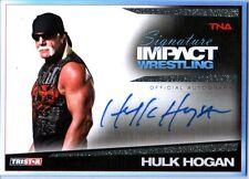 TNA Hulk Hogan S2 2011 Signature Impact GOLD Autograph Card SN 6 of 25