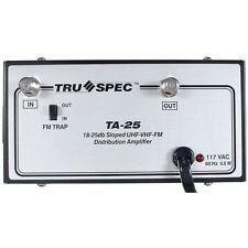 25 dB UHF-VHF-FM Distribution Amplifier TA-25