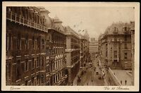 AX0235 Genova - Città - Via XX Settembre - 1930 old postcard - Cartolina postale