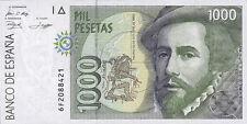 Spanien / Spain 1000 Pesetas 1992 Pick 163 (1) Cortes/Pizzaro