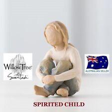 SPIRITED CHILD Demdaco Willow Tree Figurine By Susan Lordi BRAND NEW IN BOX