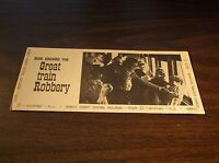 MORRIS COUNTY CENTRAL RAILROAD GREAT TRAIN ROBBERY TIMETABLE AND BROCHURE