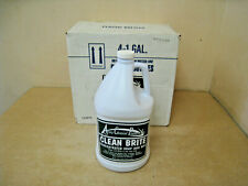 New Case of 4- 1GAL Arrow Chemical Formula Clean Brite Concentrated Soap and Wax