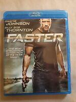 Faster (Blu-ray Disc, 2011) DWAYNE JOHNSON (THE ROCK)