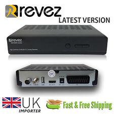 Revez HDTS850 Full HD 1080p FTA DVB-S/S2 DVB-T/T2 Receiver Satellite Terrestrial