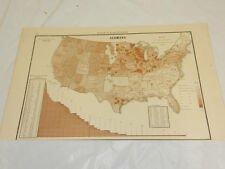 1888 Political Map/GERMAN RATIO TO TOTAL POPULATION, UNITED STATES 1880