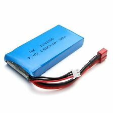 Syma X8C X8G X8W 7.4V 2500mAh RC Quadcopter Lithium Battery (T-Shaped Connector)
