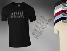 Fishing Evolution Bait Carp Angling Evo Fish Tackle Boys Men T Shirt Top Tee A41
