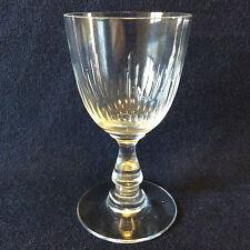Baccarat H± 9,9 cm cristal taille jeux d'orgues côtes creuses fin XIX deb XX