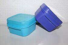 Tupperware A 166 Mini-Bellevue Vorratsbehälter 2 St. je 450ml blau Neu RAR