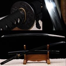 High Quality Japanese Samurai Sword Folded Steel Katana Sharp Blade Hand Forge-A
