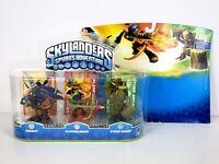 Skylanders Spyro's Adventure - Drobot, Flameslinger, Stump Smash, Triple Pack