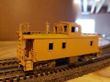 HO Scale Brass Overland Union Pacific CA-9 Steel Caboose in Yellow