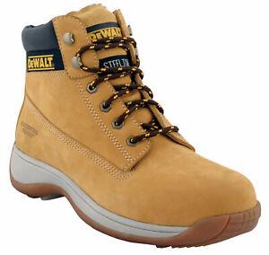 Dewalt Apprentice Honey Safety Boots Steel Toe Cap Mens & Ladies Sizes 3-12
