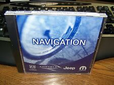 DODGE CHRYSLER NAVIGATION MAP NAV DISC CD REC RB1 DVD 5064033AE