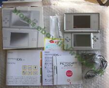 Nintendo, DS Lite, Metallic Silver, USG-001, Jap, completo, testato, works fully