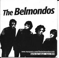 CD CARTONNE CARDSLEEVE COLLECTOR 13T THE BELMONDOS ALWAYS RUMBLE NEUF SCELLE