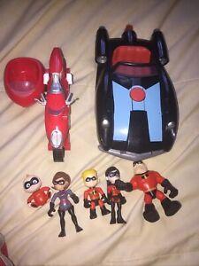 Disney/Pixar The Incredibles 2 Junior Supers Family Pack Play Set