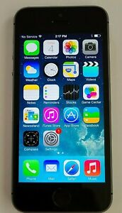 RARE IOS 7.0.2 APPLE IPHONE 5s 16GB AT&T A1533 - LOOKS/WORKS EXCELLENT