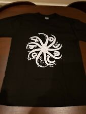 The Cure *RARE* Sun Swirl Logo 2004 Tour T-Shirt Black / Size small UNWORN